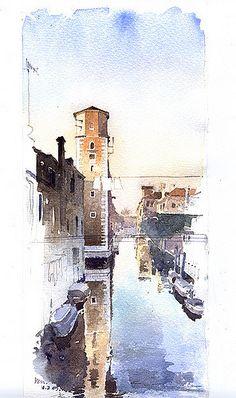 pencil+watercolor