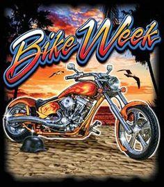 Bike Week Motorcycle Event UNISEX Quality Short Sleeve T Shirt 17131D2