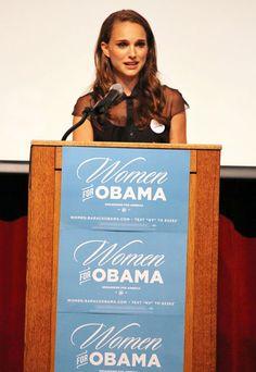Oscar winning actress Natalie Portman speaks at the Nevada Women's Summit At Historic Fifth Street School Auditorium In Las Vegas