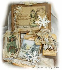 Anne's paper fun: Cards and tags ...