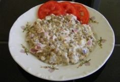 Lilahagymás lencsesaláta | NOSALTY Vegetarian Recipes, Healthy Recipes, Healthy Food, Cold Dishes, Hungarian Recipes, Hungarian Food, Bruschetta, Tapas, Potato Salad