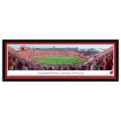 Wisconsin Badgers Football Stadium Framed Wall Art, Multicolor