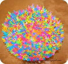 DIY  Schale aus Bügelperlen