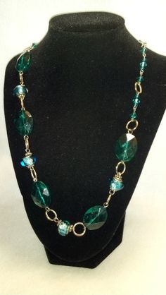 Turquoise Necklace by Eunise on Etsy, $10.00