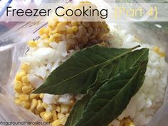 Freezer Cooking {Part 4}