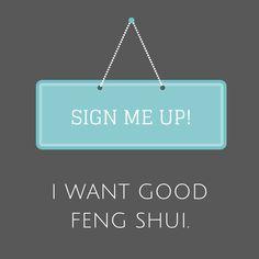 Fresh feng shui weekly newsletter
