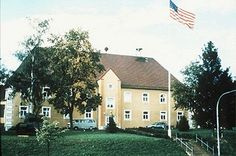 Rose Barracks, Vilseck, Germany One of my first jobs was in this building- making ration cards!!