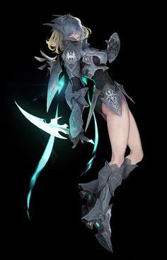 ArtStation - 20-07-22, minju Oh Female Character Design, Character Design Inspiration, Character Concept, Character Art, Concept Art, Character Ideas, Chica Fantasy, Fantasy Girl, Dark Fantasy