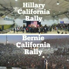 VOTE FOR BERNIE! Numbers are skewed. Like every crap reality sho the media focuses on the one who is more controversial. Gets more ratings. The good guys get ignored.