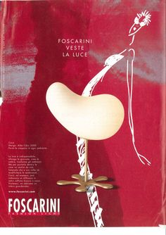 #Foscarini's first #press campaign.