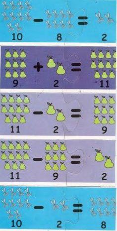 Autismo. Schede didattiche per rendere la Matematica divertente | autismocomehofatto Dyslexia Activities, Preschool Worksheets, Preschool Activities, Music Instruments, Map, Autism, Learning Numbers, Musical Instruments, Location Map
