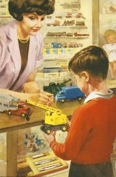 Peter in Toy shop - Play With Us, Peter And Jane