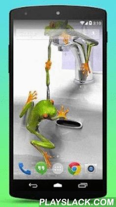 Funny Frogs Live Wallpaper  Android App - playslack.com ,  A funny frog needs the help of his friend!+ Simple app: Just install the app and set as your live wallpaper! You can change the speed the frogs swing and water ripples.+ Cute frog friendship!+ Frogs can live on land and in fresh water. They cannot survive in salt water. Their development is by metamorphosis. They hatch as tadpoles from eggs, which are laid by a female frog. The eggs are called frogspawn. Tadpoles have tails and…