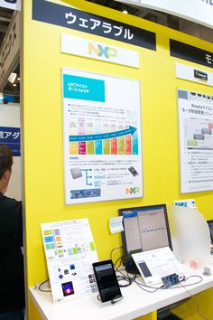 NXP at IAR booth @ Embedded Systems Expo & Conference in Tokyo (ESEC) 2015 (13..15-May-2015)