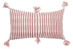 Antigua 12x20 Pillow, Rose