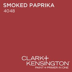 Smoked Paprika 4048 by Clark+Kensington