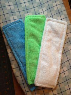DIY cloth diaper inserts.