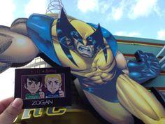 ZOGAN seems to be impressed with Wolverine! (from @ GabyLafara)