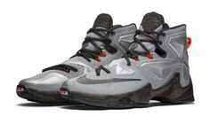best website eda18 5c535 Nike LeBron 13 Color Metallic Silver Energy-Hyper Jade-Black Style Code
