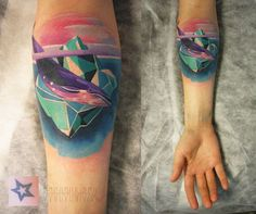 space whale tattoo - Google Search