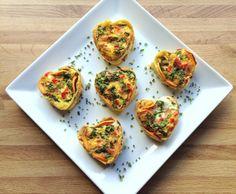 Eggemuffins med søtpotet - en lunsjfavoritt!