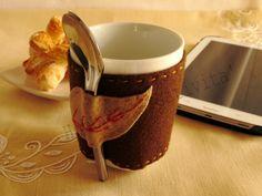 Copri tazza in feltro | Hobby e Creatività