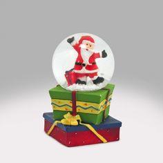 Santa Gift-y Snow Globe Snow Globe Kit, Diy Snow Globe, Snow Globes, Santa Gifts, Decor, Decoration, Decorating, Deco
