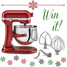 Win a KitchenAid mixer at inkatrinaskitchen.com Enter by Dec. 26 #BringtheCOOKIES