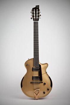 option) with custom brass tailpiece: Mister Jangles! Jazz Guitar, Guitar Art, Music Guitar, Cool Guitar, Guitar Pins, Drums Electric, 12 String Guitar, Archtop Guitar, Guitar Collection