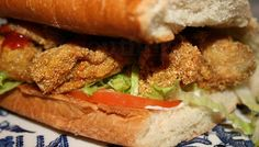 Deep South Dish: How to Construct an Oyster Po'Boy, Mississippi Style
