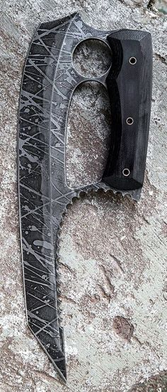 Havoc Works KERES Custom Knife Blade By Channing Watson @aegisgears www.havocworks.co...