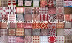 This looks like an excellent resource site for building antique and reproduction quilts and quilt blocks