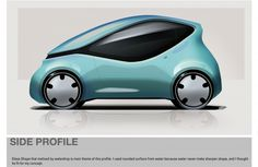 Future Car, Concept, Futuristic Vehicle