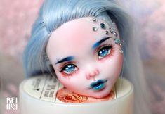 Monster High OOAK Draculaura repaint + reroot custom doll HEAD!! #Mattel