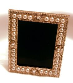Pearl Encrusted Scrying Mirror