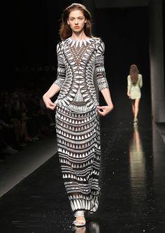 John Richmond Primavera 2014 Semana de la moda de Milán Revista Ellas
