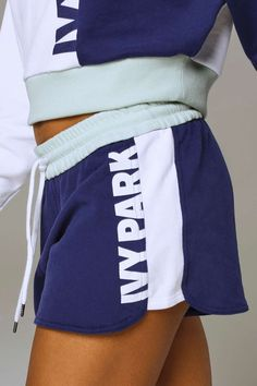 Colour Block Loopback Runner Short by Ivy Park - Ivy Park - Clothing - Topshop