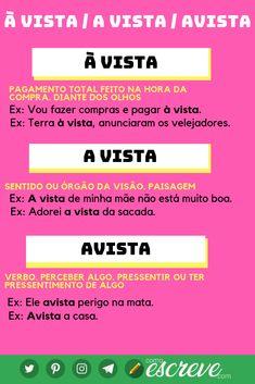Learn Brazilian Portuguese, Portuguese Lessons, Study Organization, Study Hard, Study Inspiration, Study Notes, School Hacks, Teaching Tips, Study Tips