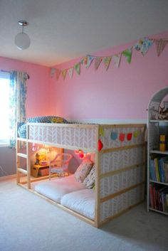 Cool Ikea Kura Beds Ideas For Your Kids Room26