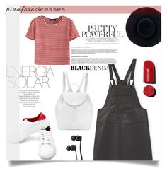 """""""60 Secondstyle"""" by collinsangelface110 ❤ liked on Polyvore featuring WithChic, MANGO, Magdalena, Nancy Gonzalez, Vans, Eugenia Kim, Chanel, pinafores and 60secondstyle"""