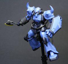 [PAINTED BUILD] HG MSD Gundam The Origin 1/144 Prototype Gouf [Tactical Demonstrator]: Photo Review No.16 Big Size Images http://www.gunjap.net/site/?p=273592