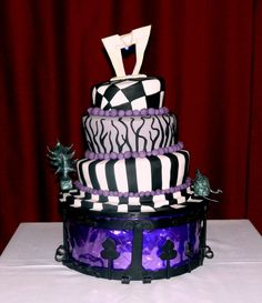 beetlegeuse beetle juice wedding cake tim burton
