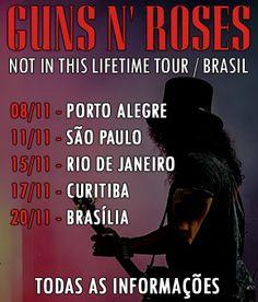 Guns N' Roses Brasil - Tudo sobre Guns N' Roses