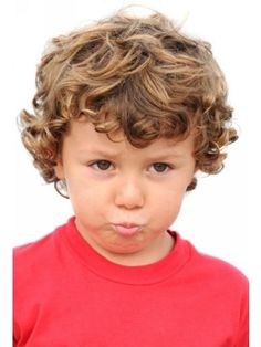 boy curly Children's Hair Styles