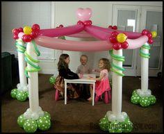 Girl Birthday Decorations, Diy Party Decorations, Balloon Decorations, Balloon Pillars, Balloon Lanterns, Balloon Dance, Balloon Gift, Balloon Display, Balloon Backdrop