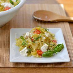 Caprese Pasta Salad with Burrata Cheese