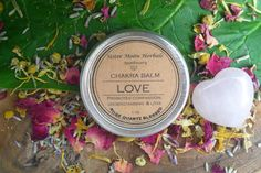 Love  Chakra Balm 1 oz. by SisterMoonHerbals on Etsy