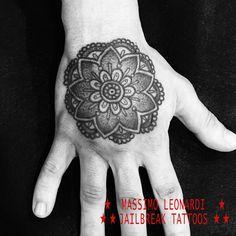 Mandala hand tattoo #mandala #tattoo #massimoleonarditattooing #jailbreaktattoos #jailbreaktattooscagliari #tattoocagliari #cagliaricittàmetropolitana #massimoleonardijailbreak   #tatuaggicagliari #traditionaltattoo #tatuaggiotradizionale #tatuaggicagliari #viaiglesias18 #shoppingcagliari