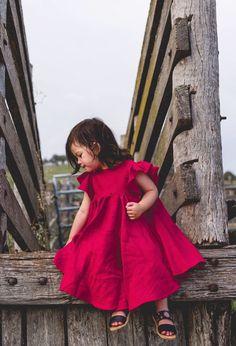 Handmade Linen Savanna Dress   MiyaAndMa on Etsy