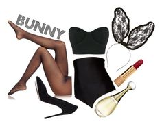 Bunny by vikrirozak on Polyvore featuring Osklen, Fogal, Island Escape, Gianvito Rossi, Cara, Chanel and Christian Dior